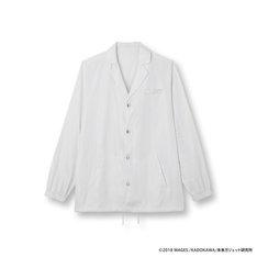 「聖なる白銀の鎧(白衣風) コーチジャケット」