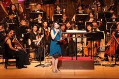 「美少女戦士セーラームーン25周年記念 Classic Concert」より、三石琴乃。(撮影:福田静良)