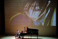 「『コードギアス 反逆のルルーシュ』ピアノソロコンサート」の様子。