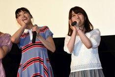 左から、「プリパラ」より茜屋日海夏、伊達朱里紗。