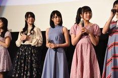 左から、「キラっとプリ☆チャン」より厚木那奈美、久保田未夢、林鼓子。