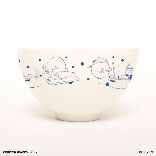 「はぐちさん お茶碗&箸置き」のお茶碗。