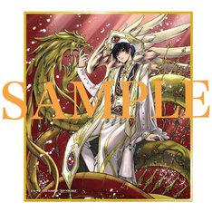 来場者特典のキャラクターデザイン原案・CLAMP描き下ろしミニ色紙。