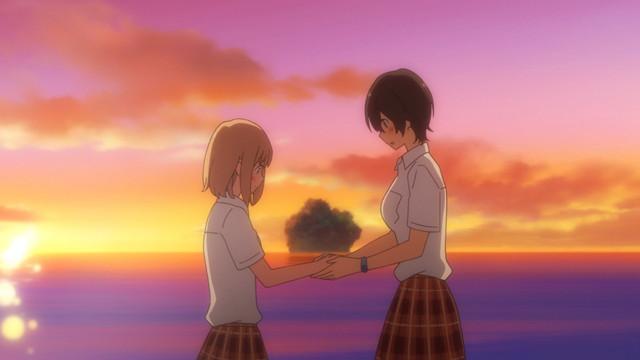 OVA「あさがおと加瀬さん。」より。