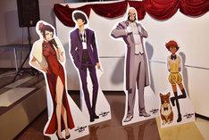 「『カウボーイビバップ』×アニメイトカフェ」店内の様子。