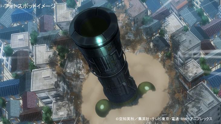 「ネオアームストロングサイクロンジェットアームストロング源外砲」のイメージ。