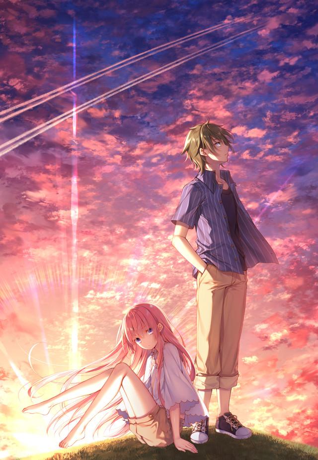 テレビアニメ「ガーリー・エアフォース」ティザービジュアル