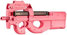 C賞:「特別エアガンP90(ピンクのピーちゃんver.)」