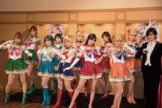 「乃木坂46版 ミュージカル『美少女戦士セーラームーン』」囲み取材より。