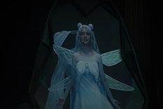 白石麻衣扮するプリンセス・セレニティの映像。