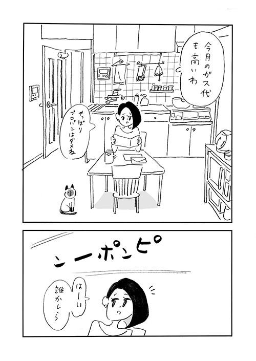 「主婦と生理ちゃん」より。