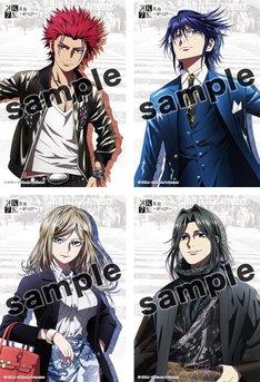 劇場アニメ「K SEVEN STORIES」より、エピソード1「R:B ~BLAZE~」の上映期間中に配布されるエピソードカード。