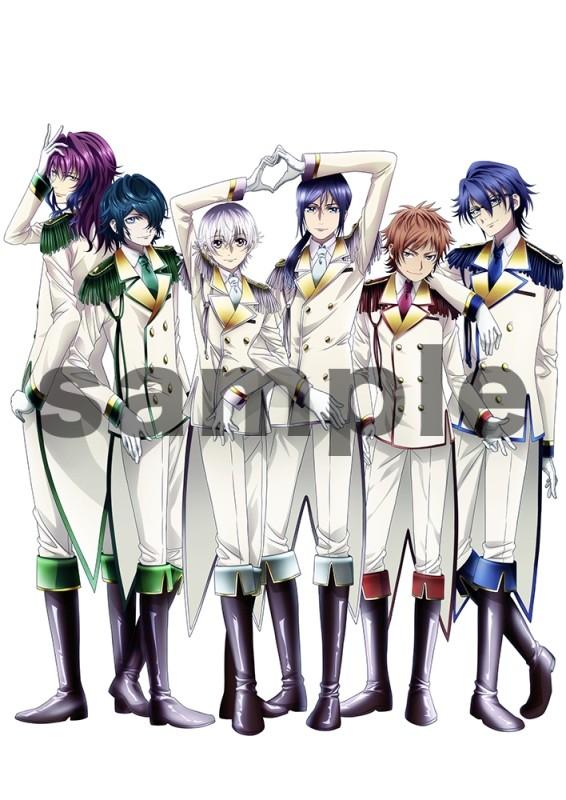 劇場アニメ「K SEVEN STORIES」より、エピソード6「Circle Vision ~Nameless Song~」の鑑賞券に用いられる描き下ろしイラスト。