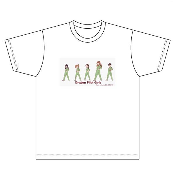 「ED場面写」柄のTシャツ。