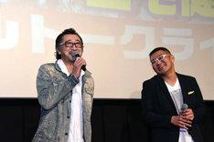 テレビアニメ「僕のヒーローアカデミア」イベントの様子。