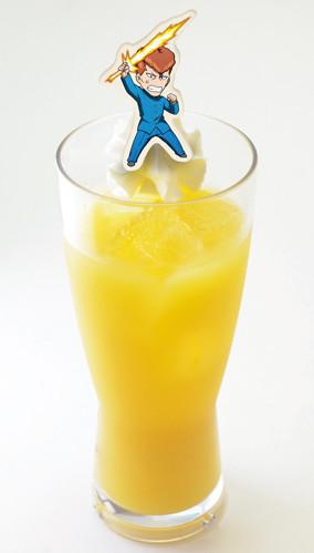 「『オレンジジュースでいいかい?』『ああ。 ついでに氷も入れてくれ』タブーオレンジジュース」