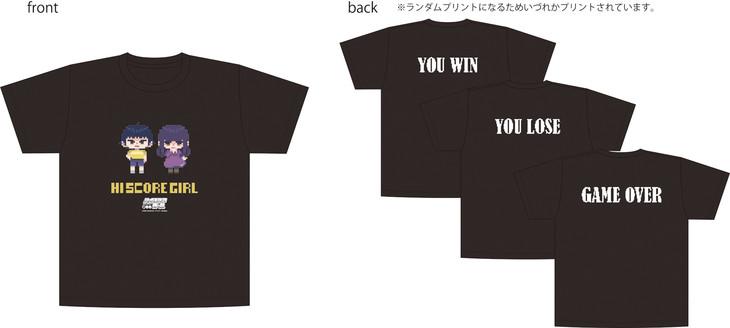 「ハイスコアガール ランダムプリントTシャツ ドットver.」