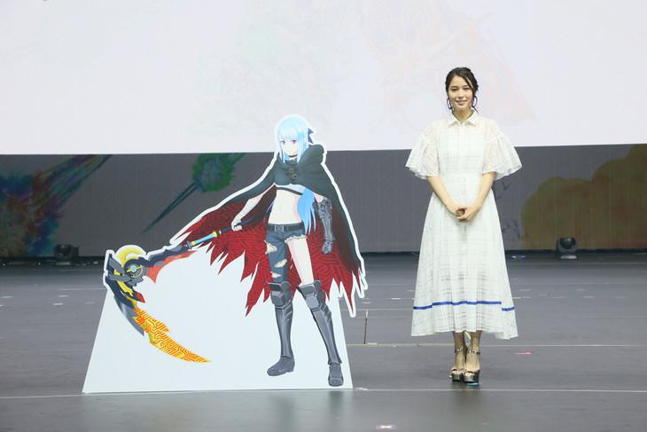 「XFLAG PARK2018」のステージより、広瀬アリス。