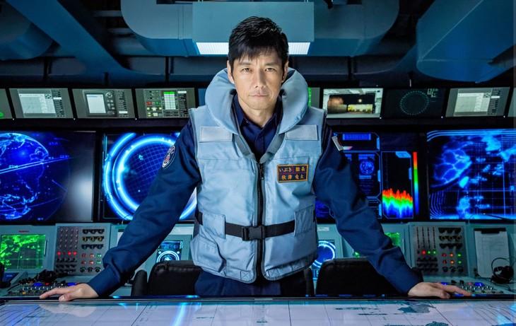 実写映画「空母いぶき」より、西島秀俊演じる秋津竜太。