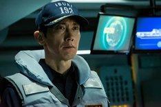 実写映画「空母いぶき」より、佐々木蔵之介演じる新波歳也。