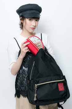 八田美咲モデルの着用例。