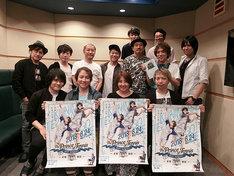 OVA「テニスの王子様 BEST GAMES!! 手塚 vs 跡部」キャスト集合写真。(c)許斐 剛/集英社・NAS・新テニスの王子様プロジェクト