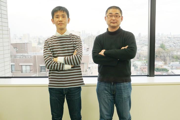 「陽だまりの朝食」のキャラクターデザインと作画監督を担当した西村貴世(左)と、「小さなファッションショー」作画監督を務めた大橋実(右)。