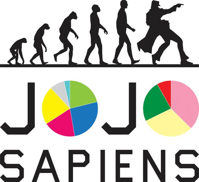 「ジョジョサピエンス」のロゴ。