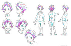 「KING OF PRISM -Shiny Seven Stars-」より、十王院カケルの設定画。