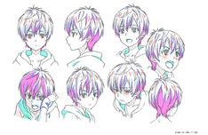 「KING OF PRISM -Shiny Seven Stars-」より、香賀美タイガの設定画。