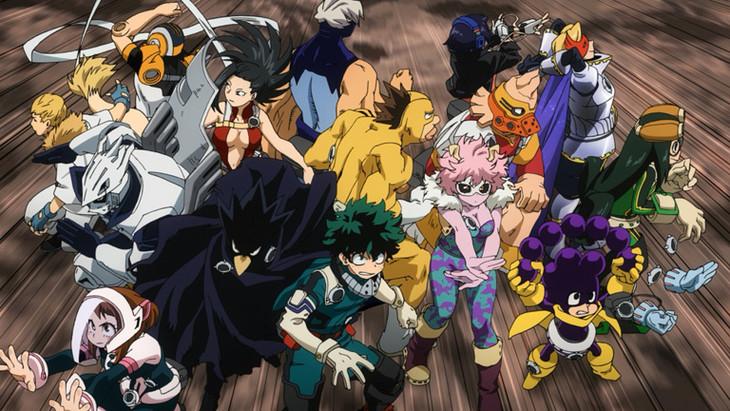 テレビアニメ「僕のヒーローアカデミア」最新PVより。