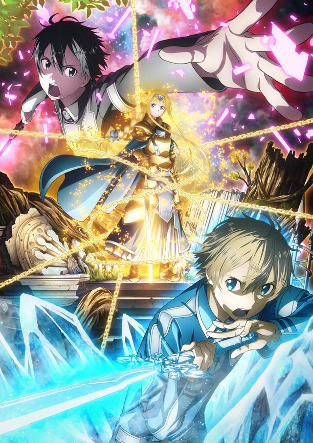 テレビアニメ「ソードアート・オンライン アリシゼーション」第2弾キービジュアル