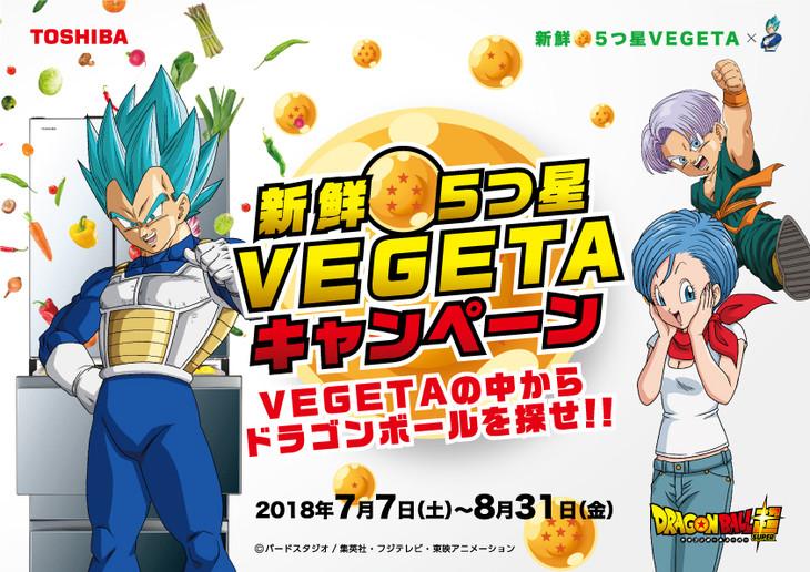 「新鮮★5つ星 VEGETAキャンペーン」ビジュアル