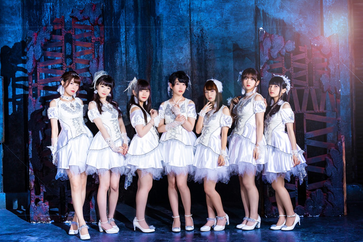 Kleissis。左から金子有希、高橋麻里、山田麻莉奈、田中有紀、富田美憂、山根綺、元吉有希子。