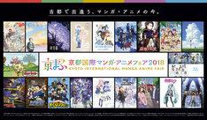 「京都国際マンガ・アニメフェア2018」ビジュアル