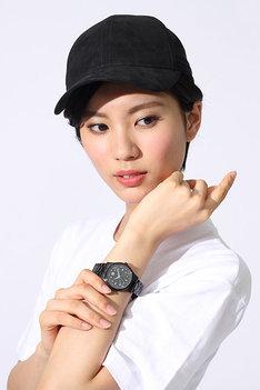 腕時計の使用例。
