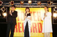 劇場アニメ「未来のミライ」サウンドトラック発売イベントの様子。
