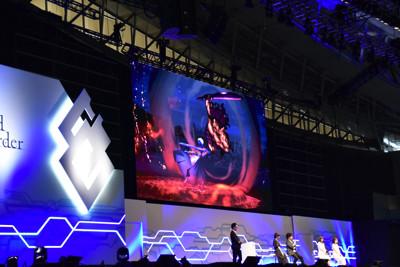 劇場版「『Fate/stay night [Heaven's Feel]』II.lost butterfly」のステージイベントより。