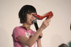 佐倉綾音が履いてきた靴。