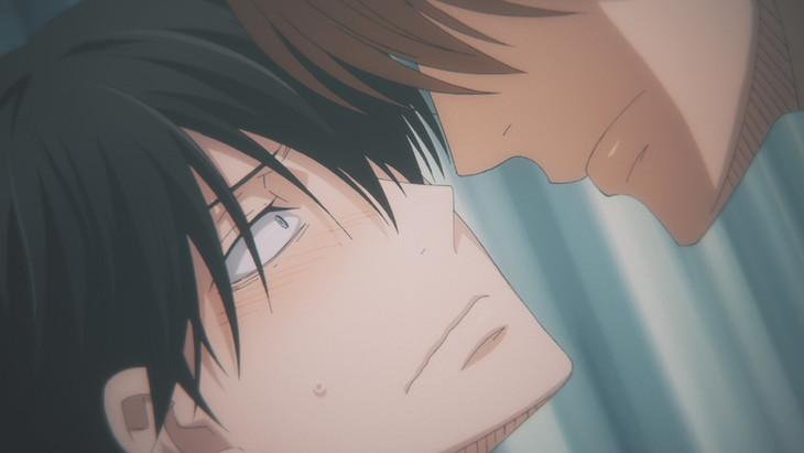 アニメ「抱かれたい男1位に脅されています。」PV第1弾より。