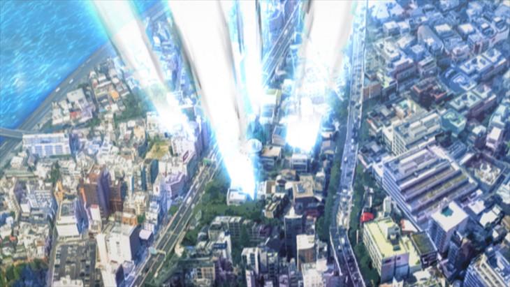 テレビアニメ「消滅都市」ティザーPVより。