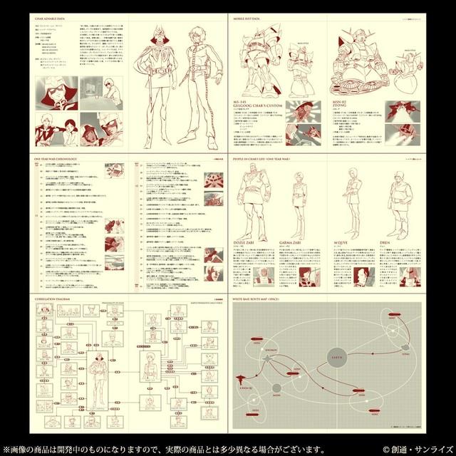 「機動戦士ガンダム シャア専用手帳2019」の情報ページ。