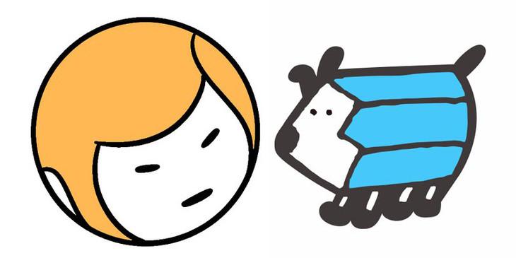左から森もり子とトミムラコタのTwitterアイコン。