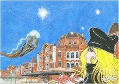 大丸東京店での開催を記念した、松本零士の描き下ろし原画。