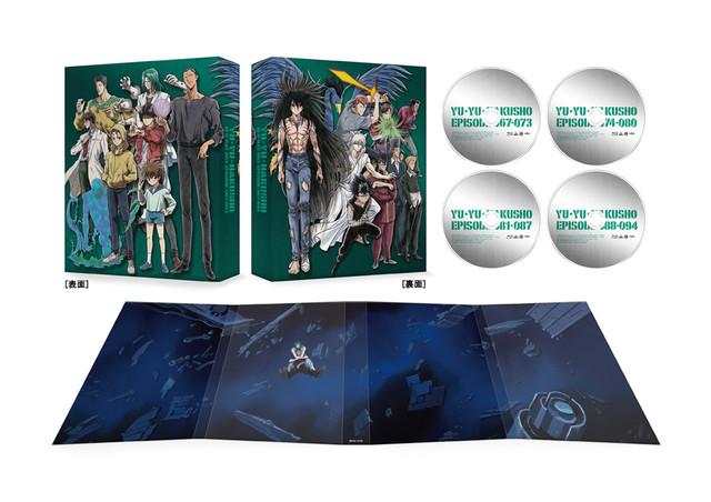 「幽☆遊☆白書 25th Anniversary Blu-ray BOX 仙水編」の展開図。