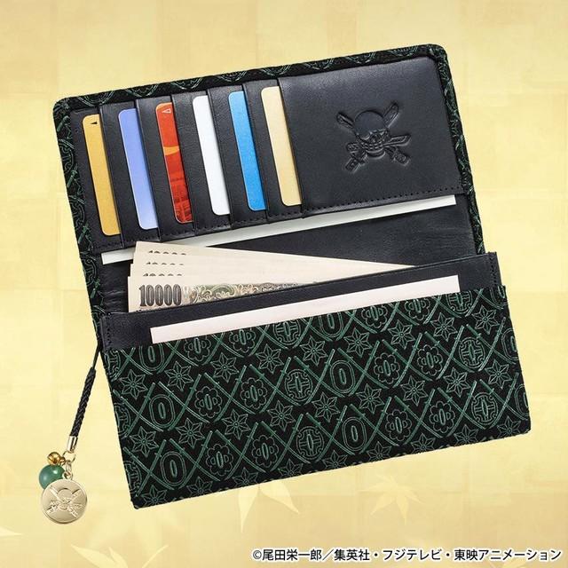「ロロノア・ゾロ 漆黒の三刀流 高級印傳の長財布」