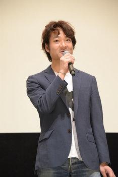 プロデューサーの若林豪。