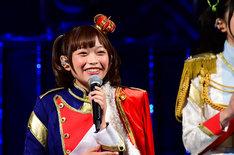 「少女☆歌劇 レヴュースタァライト」ステージの模様。愛城華恋役の小山百代。(c)Project Revue Starlight