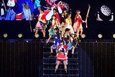「少女☆歌劇 レヴュースタァライト」ステージの模様。(c)Project Revue Starlight