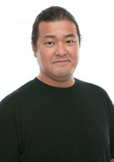 ボス役の稲田徹。